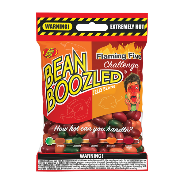 BeanBoozled Flaming Five 54g Beutel